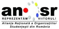 Logo Alianța Națională a Organizațiilor Studențești din România